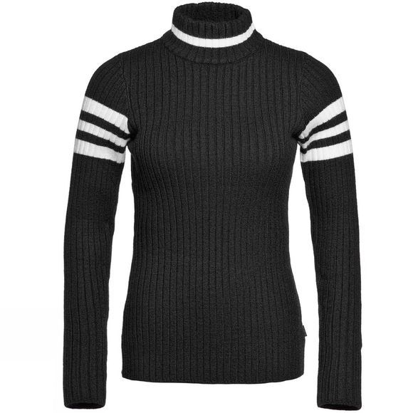 Goldbergh Womens Fujita Rollneck Sweater Black