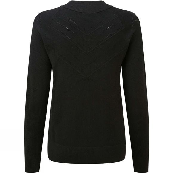 Odlo Womens Unity Kinship Midlayer Half Zip Fleece Black