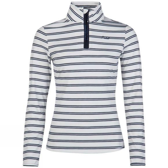 Protest Womens Meadow Stripe Top Ground Blue