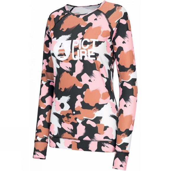 Picture Womens Milita Top C Pink Painter