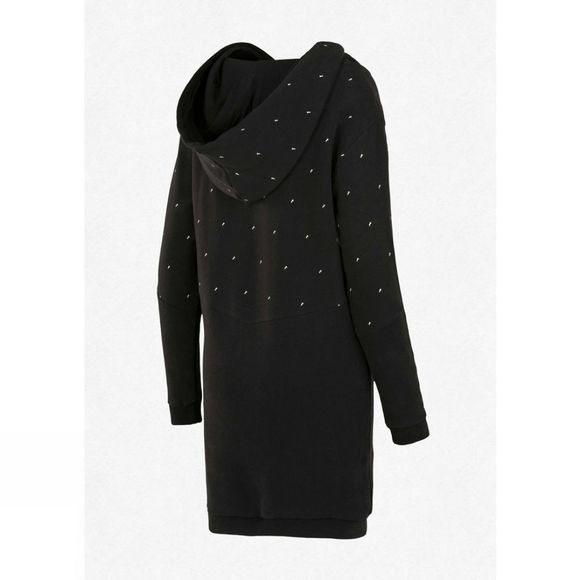 Picture Womens Pearl Hoodie Dress Black