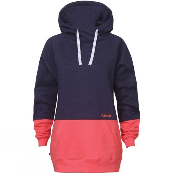 Planks Womens Double Hood Navy