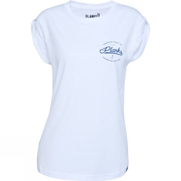 Planks Womens MSC Boyfriend Tee White