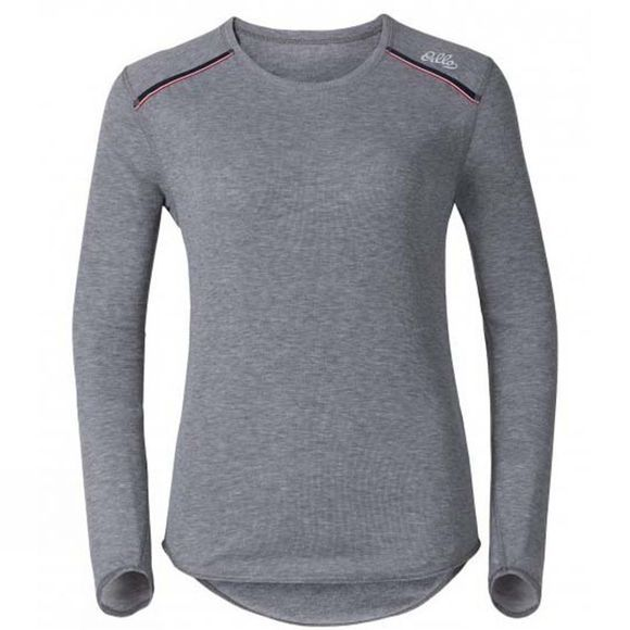 Women's Valle Blanche Warm Long Sleeve Crew