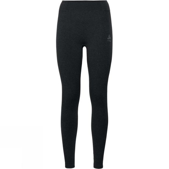 Odlo Womens Performance Warm Long Pant Black/ Odlo Concrete Grey