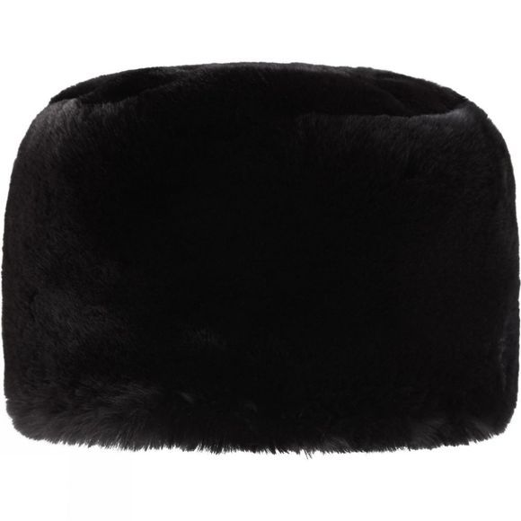 Steiner Winter Women's Fur Cossack Hat Chinchilla Black