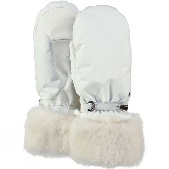Barts Womens Empire Ski Mitts White