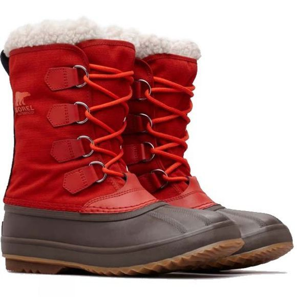 Sorel Men's 1964 Pac Nylon Boot Rust Red, Cordovan