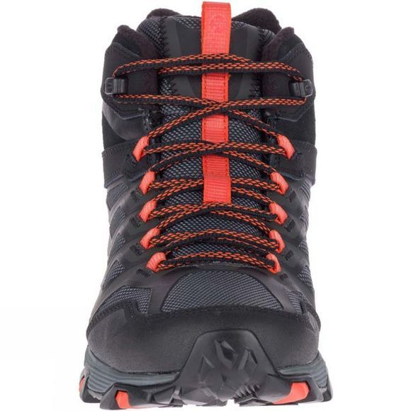 Merrell Mens Moab FST Ice+ Thermo Boot Black/Fire