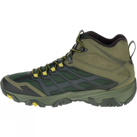 Merrell Mens Moab FST Ice+ Thermo Boot Pine Grove/Olive