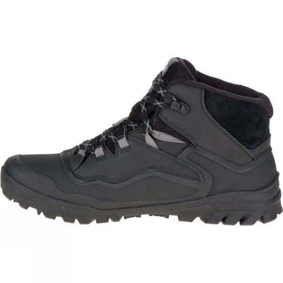 Merrell Mens Overlook 6 Ice+ Waterproof Boot Black