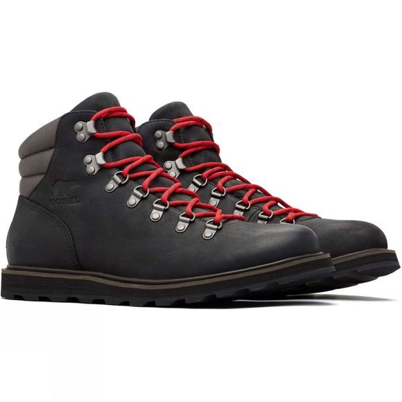 Sorel Mens Hiker Waterproof Boot Black