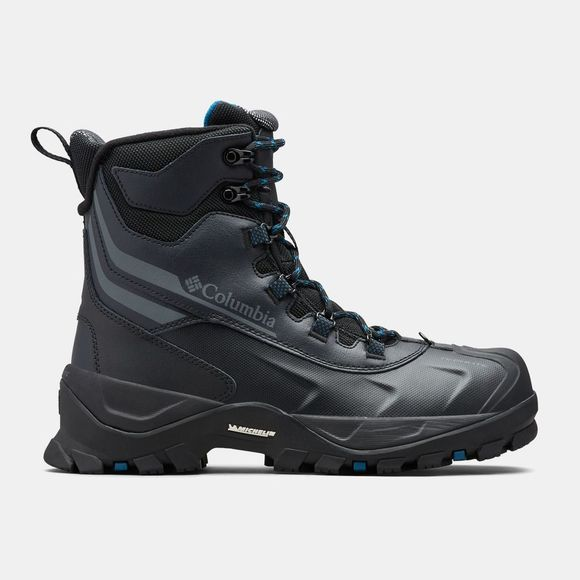 Columbia Mens Bugaboot Plus Iv Omni-Heat Boot Black/ Phoenix Blue