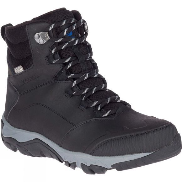 Merrell Mens Thermo Glacier Mid Waterproof Boot Black