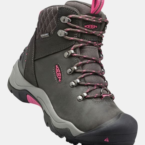 Keen Womens Revel III Boot Black/Rose