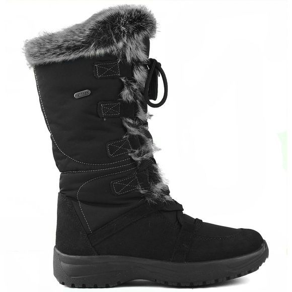 Calzat Womens Resort Grip Boots Black