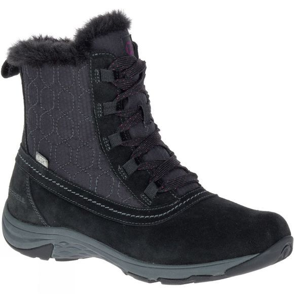 Merrell Womens Ryeland Mid Polar Waterproof Boot Black