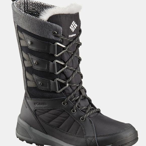 Columbia Womens Meadows Omni-Heat 3D Boot Black/ Steam