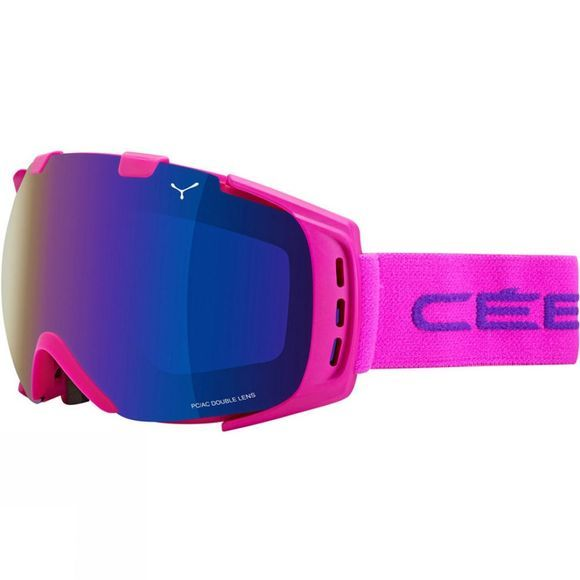 Cebe Origins Medium Goggle Pink / Brown Flash Blue