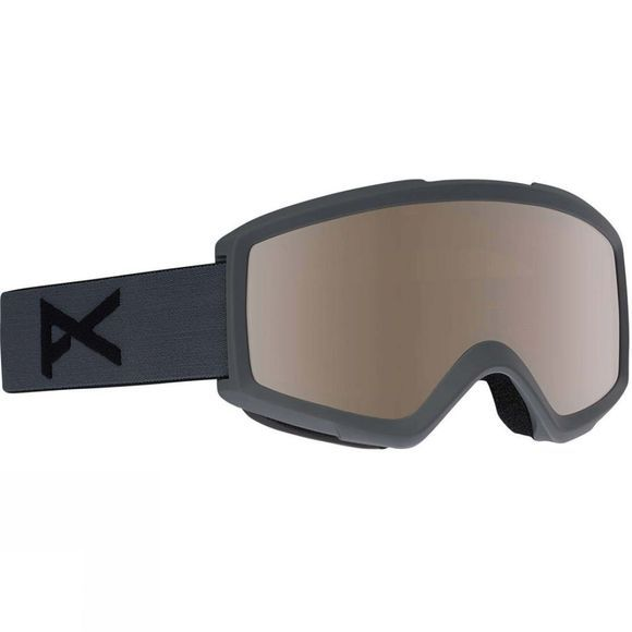 Anon Unisex Helix Goggle Stealth/Silver Amber + Amber