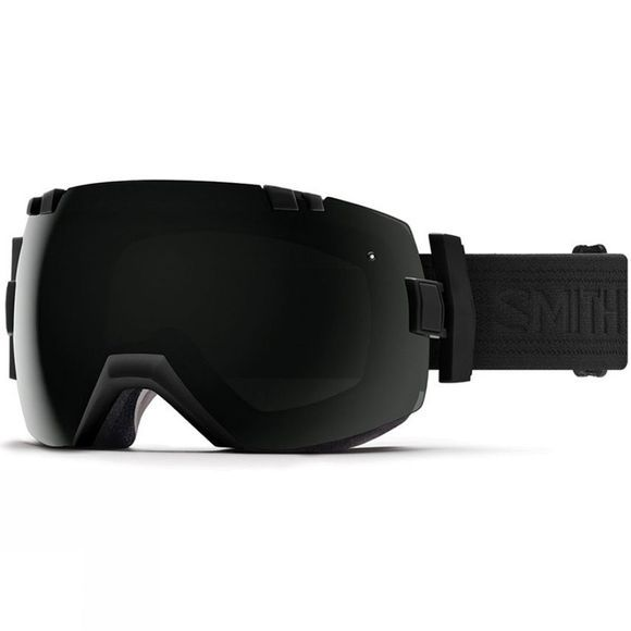 Smith I/OX Goggles BLACKOUT/SUN BLACK & STORM ROSE FLASH