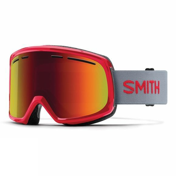 Smith Range Goggle FIRE/RED SOL X MIRROR