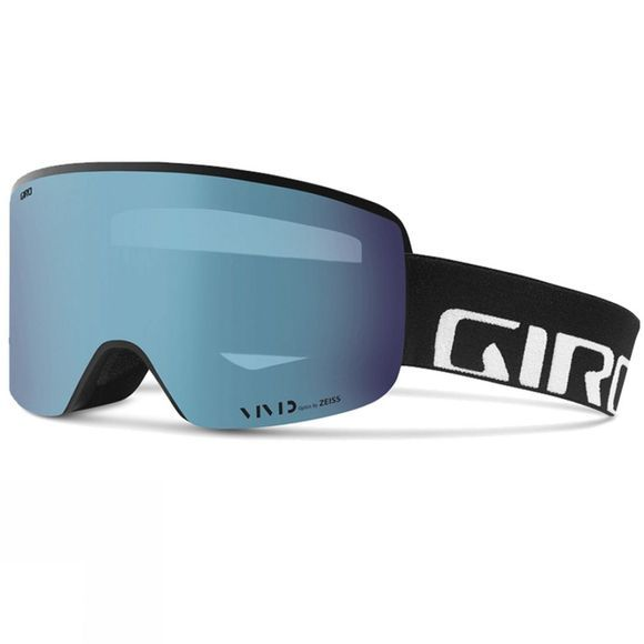 Giro Mens Axis Goggles Black Wordmark/ Vivid Royal