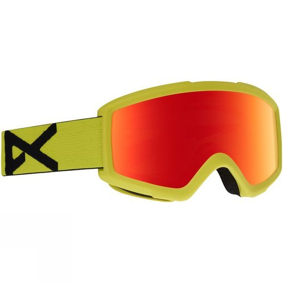 Anon Helix Goggles YELLOW/RED SOLEX+AMBER