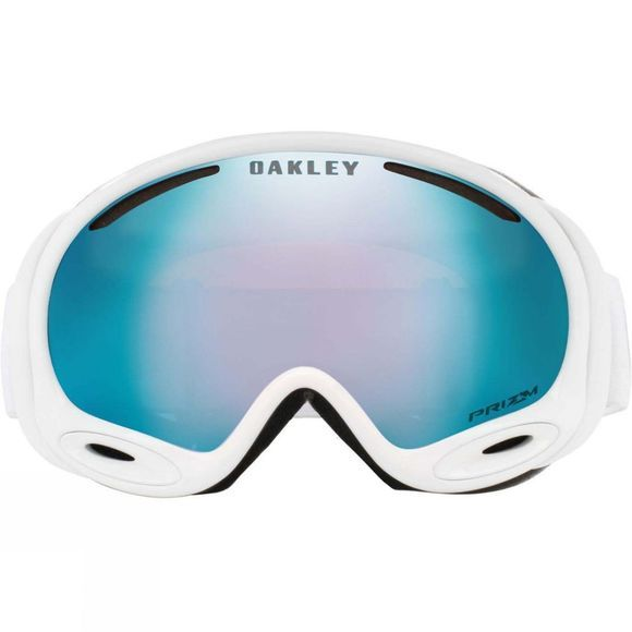 Oakley Mens A Frame 2.0 Goggles Factory Pilot Whiteout