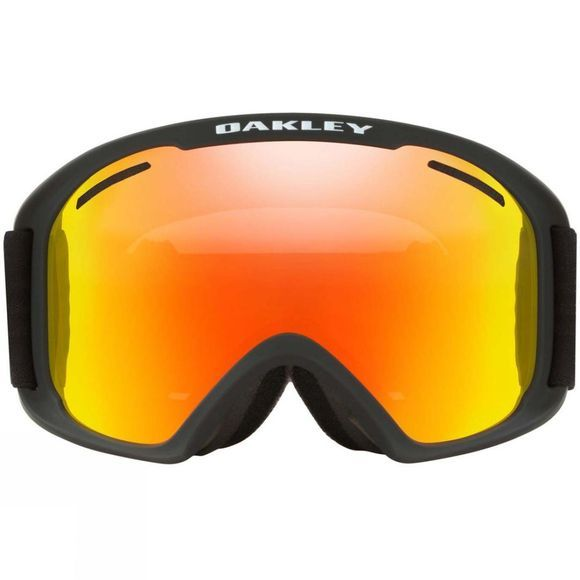 Oakley Mens O Frame 2.0 XL Goggle Matt Black/ Fire Iridium & Persimmon