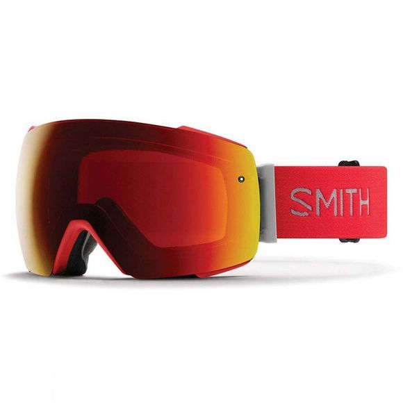 Smith Mens I/O Mag Goggle Rise/ Sun Red Mirror & Storm Rose Flash