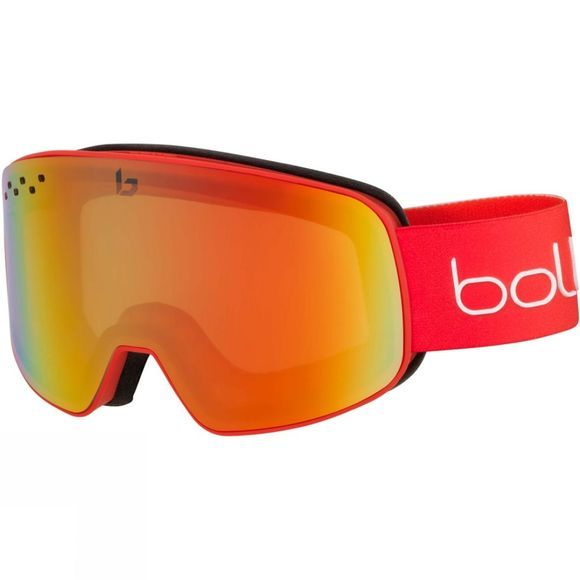 Bolle Mens Nevada Goggle Matt Red Gradient/ Photochromic Fire Red