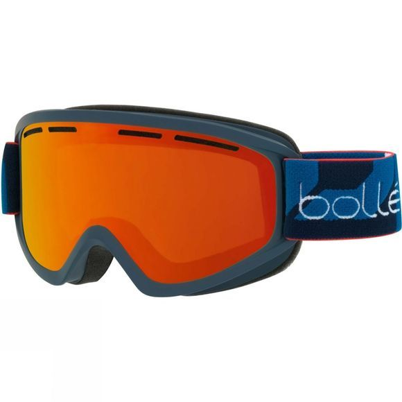 Bolle Mens Schuss Goggle Matt Navy/ Sunrise