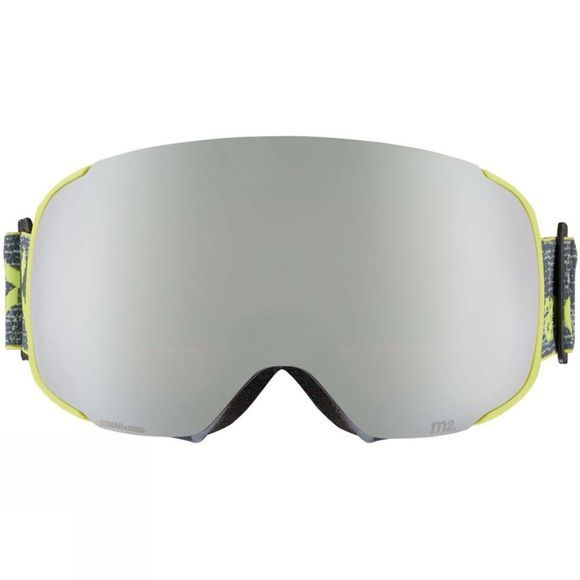 Anon Mens M2 MFI Goggle (Spare Lens Included) WEAVE/SONAR SILVER/SONAR GREEN