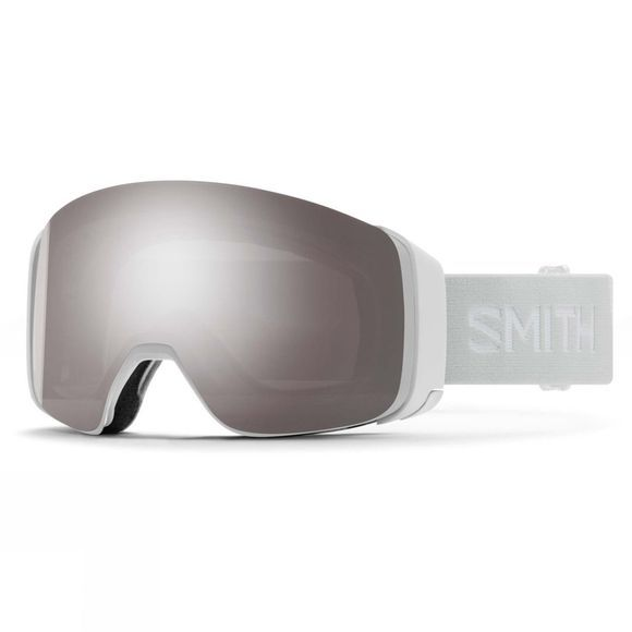 Smith 4D Mag Goggle White Vapor / Sun Platinum Mirror & Storm Rose Flash
