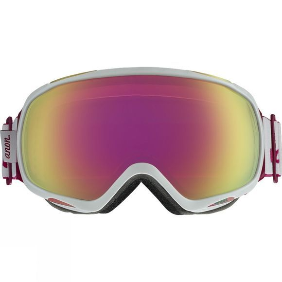Anon Womens Tempest Goggles WHITE/PINK SQ