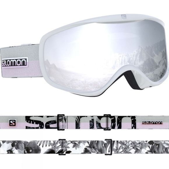 Salomon Womens Sense Goggles White Flower/ Uiversal