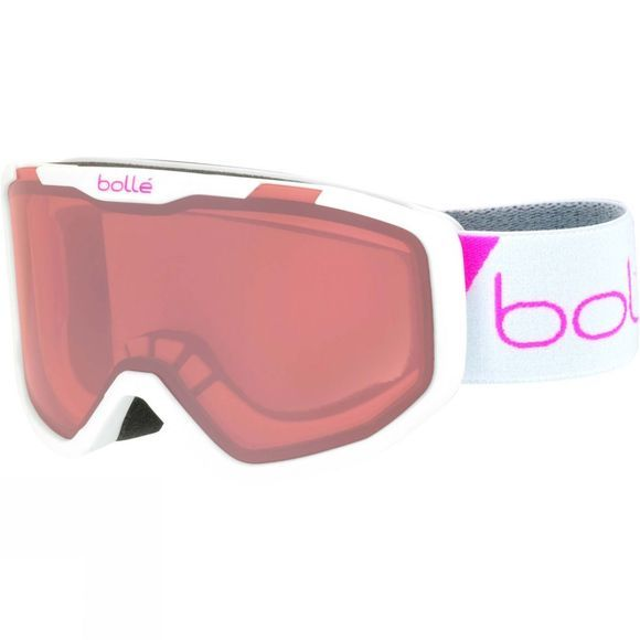 Bolle Kids Rocket Goggle Matt White Race/ Vermillon