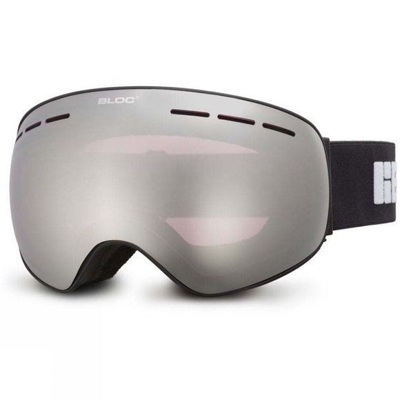 Bloc Kids Moon 3 Goggles Matt Black/Silver Mirror