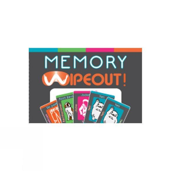 Wipeout Memory Wipeout Card Game Memory Game