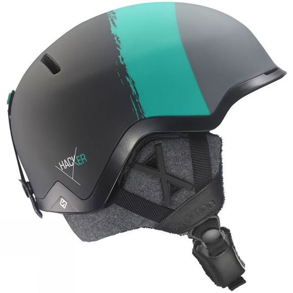 Salomon Unisex Hacker C. Air Helmet Black          /Black Trim