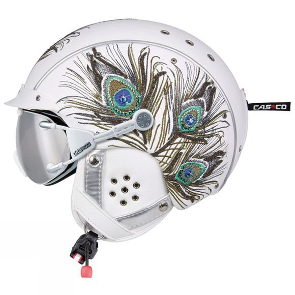 Casco Womens SP-3 Limited - Peacock White          /Patterned