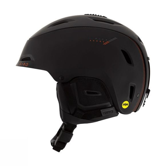 Giro Range MIPS Helmet Matt Black Red Sport Tech