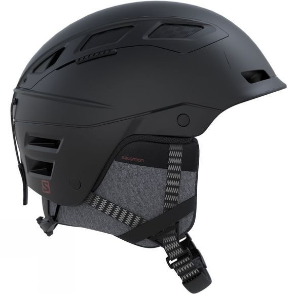 Salomon QST Charge Snow Helmet Black