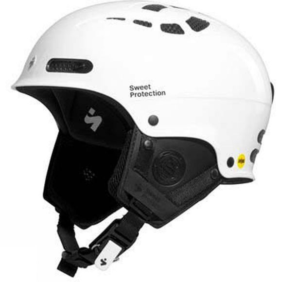 Sweet Protection Mens Igniter II MIPS Helmet Gloss White/ Gloss Black