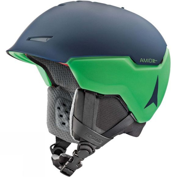Atomic Mens Revent + Amid Helmet DARK BLUE/GREEN