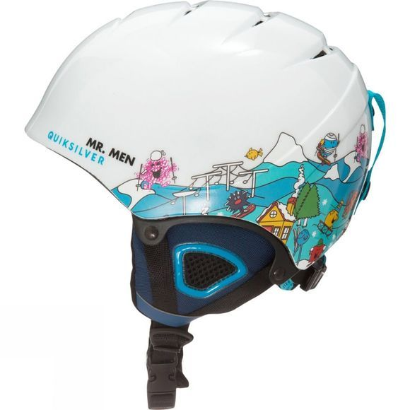 Quiksilver Boys The Game Mr Men Snowboard/Ski Helmet Mr Men Fun Times