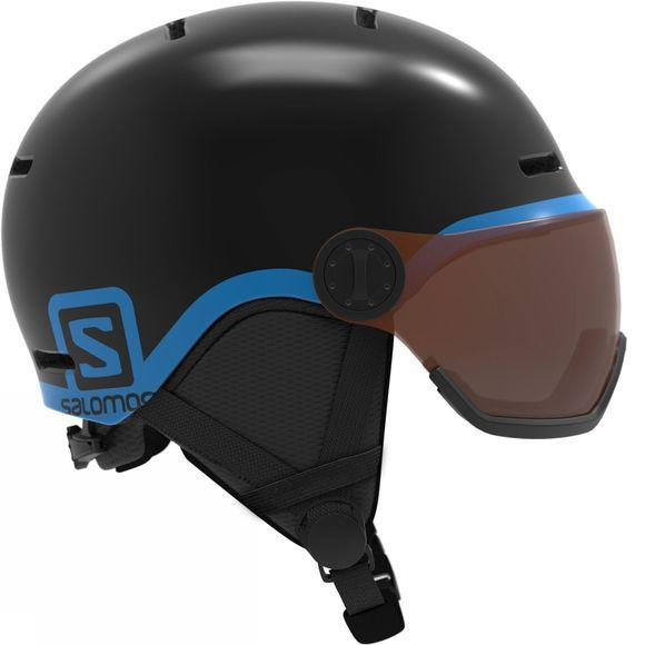 Salomon Kids Grom Visor Snow Helmet Black