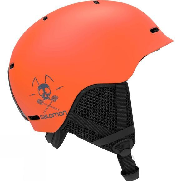 Salomon Junior Grom Helmet Flame