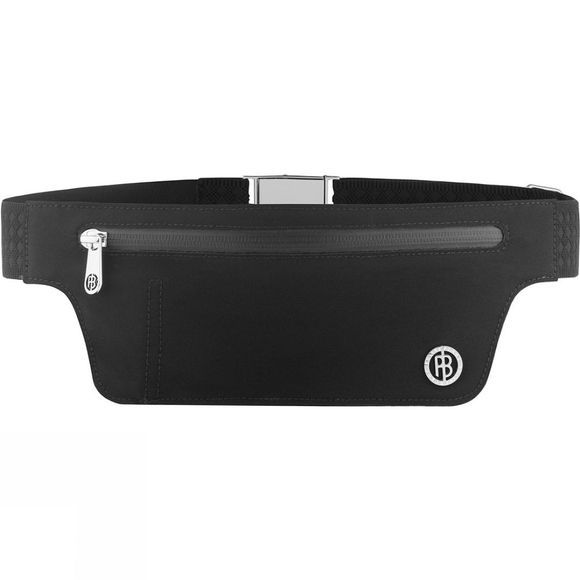 Poivre Blanc Women's Softshell Slim Waist Bag Black